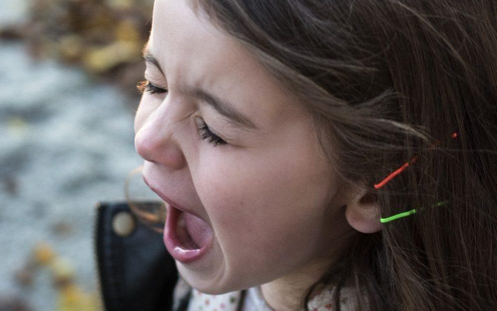 Meisje 6 Jaar Woedeaanval